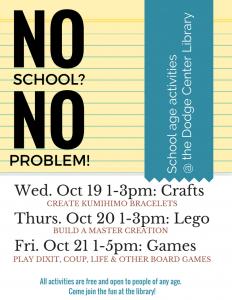 No School, No problem!
